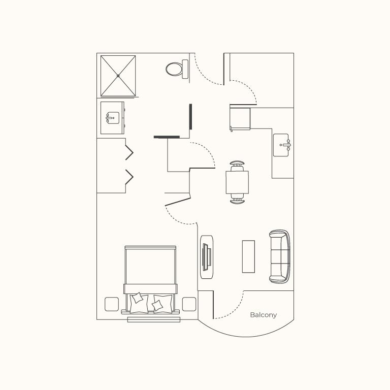 Plan B 1 Bedroom